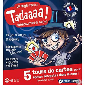Tadaaa ! Tours de Magie France cartes