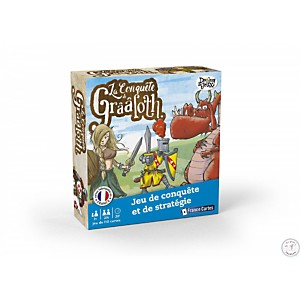 La conquete de Grââloth - France cartes