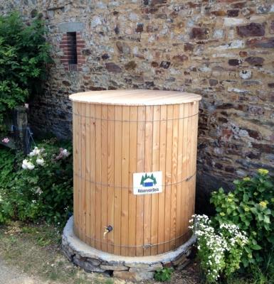 Cuve de récupération d'eau de pl...