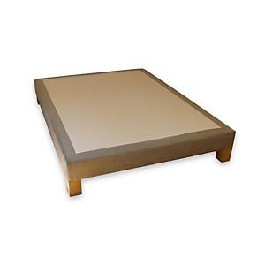 Sommier tapissier déco vintage BIOSENSE Beige cachemire 80 x 200 cm