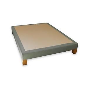 Sommier tapissier déco vintage BIOSENSE Menthe pastel 90 x 200 cm