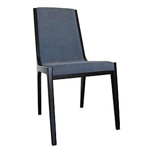 Lot de 2 chaises Seven Noir/Gris