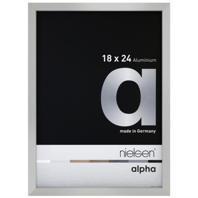 Cadre photo Nielsen Alpha Argent Mat
