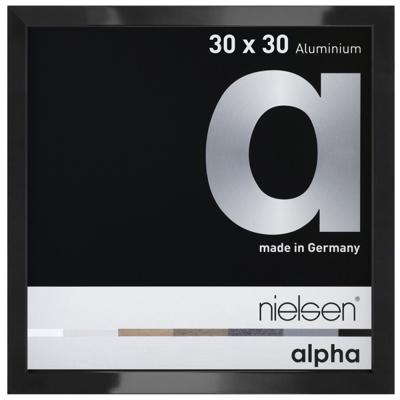 Cadre photo Nielsen Alpha Noir Anodise