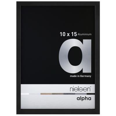 Cadre photo Nielsen Alpha Noir Anodise Mat