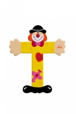 Lettre T 'clown'