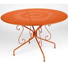 Tables de jardin orange fermob - Camif