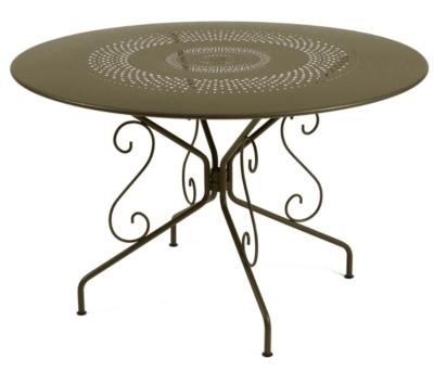 Table FERMOB Montmartre Ø117cm