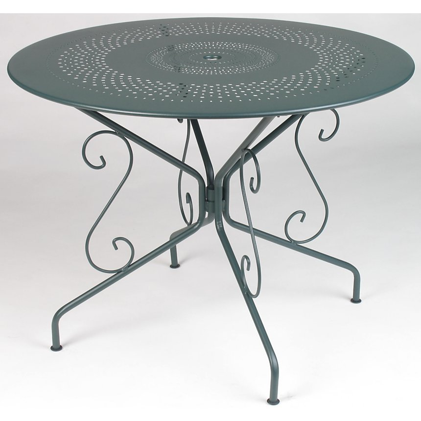 Table FERMOB Montmartre diamètre 117cm