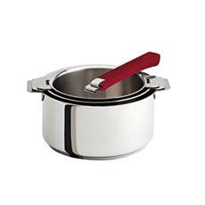 Set 3 casseroles CRISTEL Mutine+...