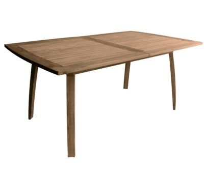 Emejing table de jardin en teck medicis pictures amazing for Table 2 personnes