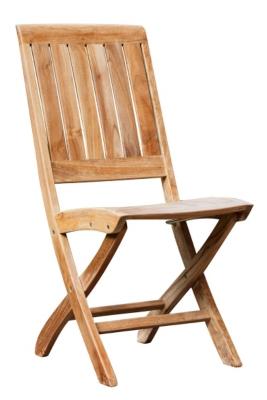 Lots de 2 chaises en pliantes en bois  MEDICIS