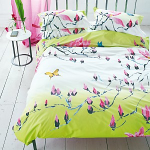 Taie d'oreiller percale Madame Butterfly  DESIGNERS GUILD