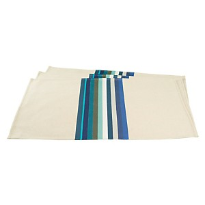 Lot de 6 sets de table Mauléon Bleu  ART