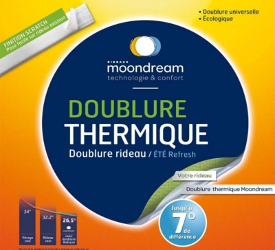 Doublure thermique été universelle  Refresh MOONDREAM