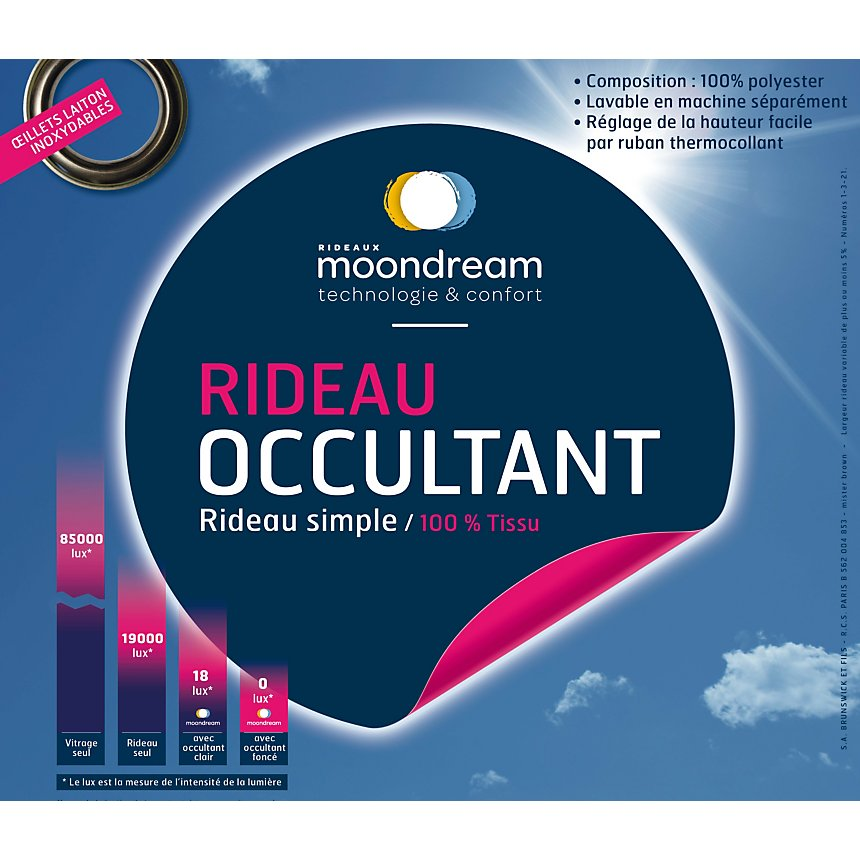 Rideau occultant MOONDREAM