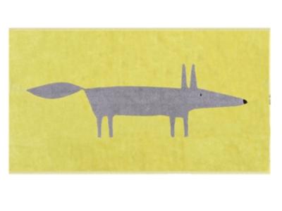Tapis de bain Mr Fox Citron SCION LIVING