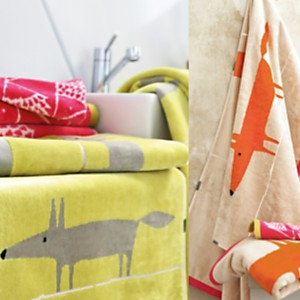 Serviette de toilette Mr Fox SCION  LIVING