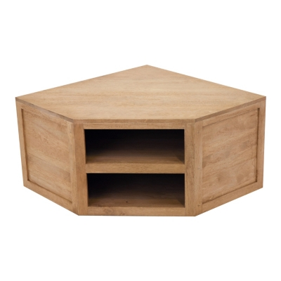 Meuble tv d 39 angle norden for Table de television en bois
