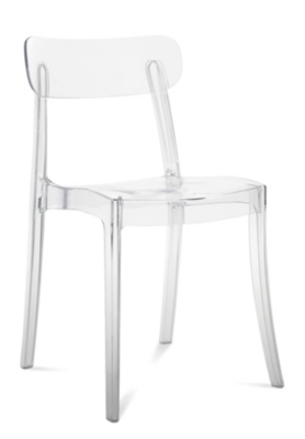 Lot de 4 chaises empilables  New retro