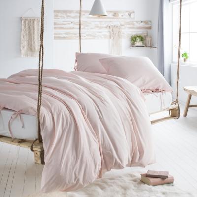 Parure de lit à nouettes Nöd Rose