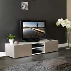 Meuble TV Orcade 2 tiroirs 2 niches