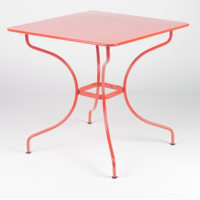 Table démontable carrée FERMOB Opéra 77 x 77 cm, coloris au choix
