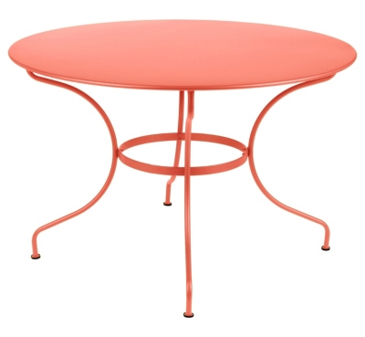 table FERMOB Opéra Ø 117cm  démontable, couleur au choix