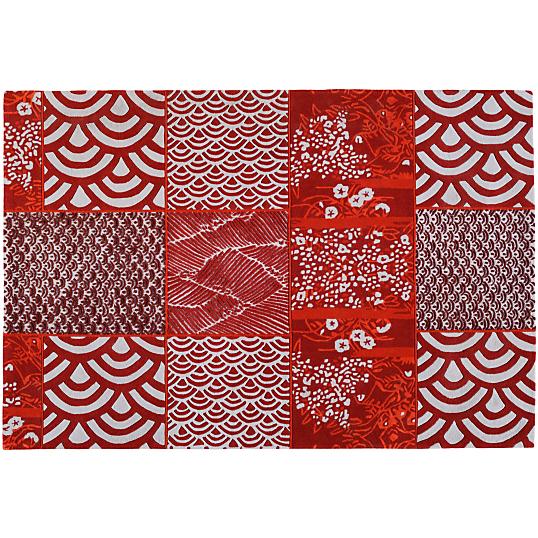 tapis osaka toulemonde bochart rouge. Black Bedroom Furniture Sets. Home Design Ideas