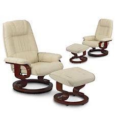 Lot de 2 fauteuils relaxation cu...