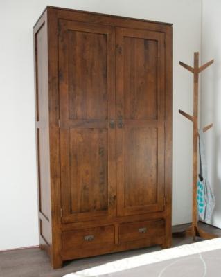 Armoire 2 portes 2 tiroirs Paradis