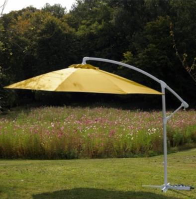 Parasol déporté 300/8 alu/fibre de verre  5 coloris au choix