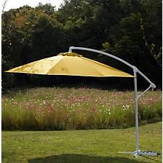 Parasol déporté 300/8 alu/fibre de verre