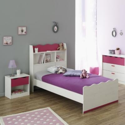 lit chevet prune. Black Bedroom Furniture Sets. Home Design Ideas