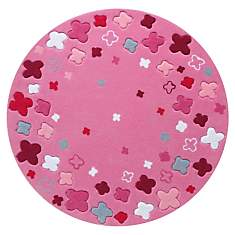 Tapis ESPRIT HOME Party rose