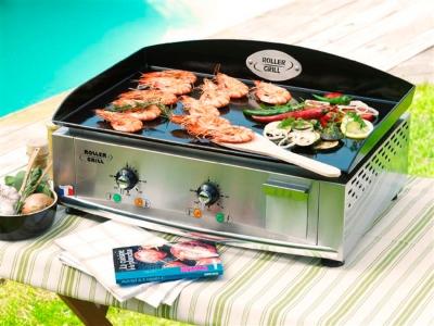Plancha Roller grill 600x400 gaz