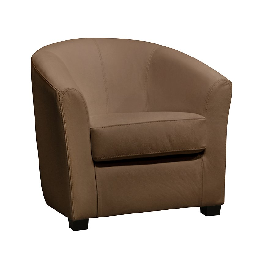 Fauteuil cabriolet cuir PLESSIS