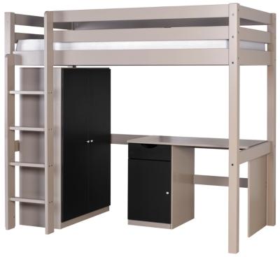 Lit mezzanine combiné Smarty, 90 x 190  cm