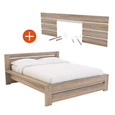 Lit + environnement de lit Aaron