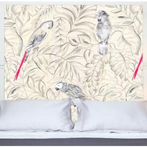 Tête de lit Perroquets MADEMOISELLE TISS