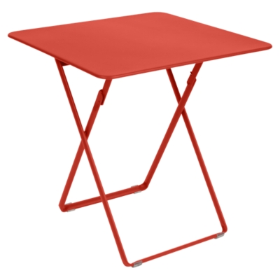 Table pliante carrée 2/4 personnes  Plein Air FERMOB