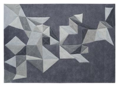 tapis pliages toulemonde bochart gris. Black Bedroom Furniture Sets. Home Design Ideas