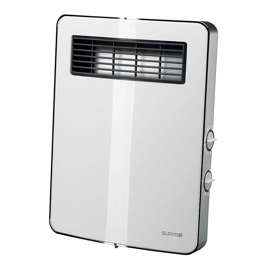 Radiateur soufflant 2000W Etno SUPRA  blanc