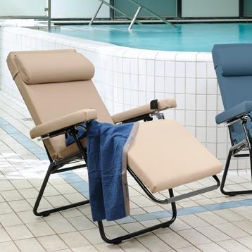 lafuma relax toile rechange cool transat chaise longue relax pliante en acier et toile batyline. Black Bedroom Furniture Sets. Home Design Ideas