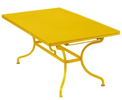 Table à allonges FERMOB Romane,  200/300 x 100 cm.