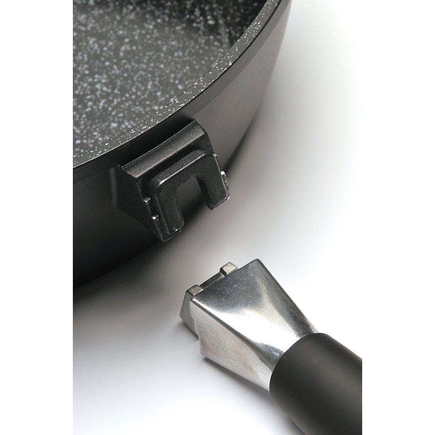 Poêle conique BERGHOFF Scala Fernogreen  28 cm avec couvercle