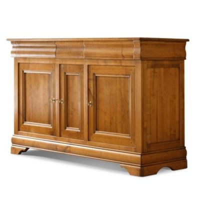 Buffet 3 portes 3 tiroirs Senlis