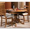 Table Senlis avec pied central et 2  allonges