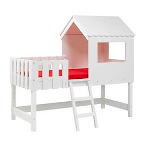 Lit cabane Maisonnette 90 x 190 cm