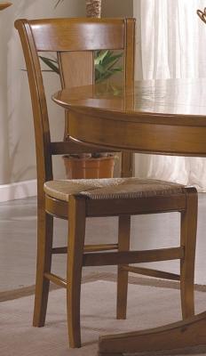 Lot de 2 chaises Solène assise paillée